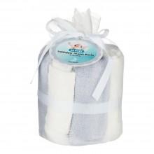 Tvättlappar Bambu 10-pack Grå