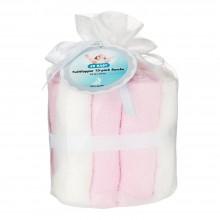 Tvättlappar Bambu 10-pack Rosa